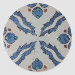 Traditional antique Ottoman tile Sticker