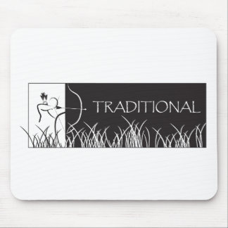Traditional Archery Banner Mousepad