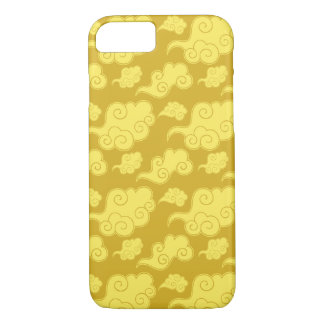 Traditional Asian/Chinese Golden Cloud Pattern iPhone 7 Case