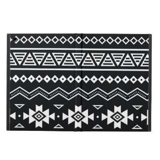 Traditional Aztec seamless tribal folk art pattern iPad Air Cover