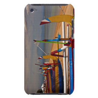 Traditional Balanese fishing boats on beach near iPod Touch Cases