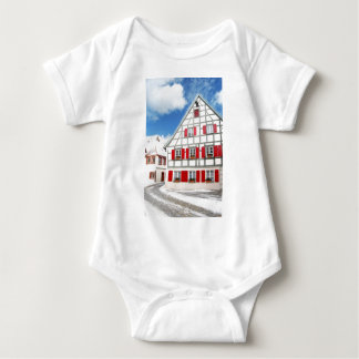 Traditional Bavarian house Baby Bodysuit