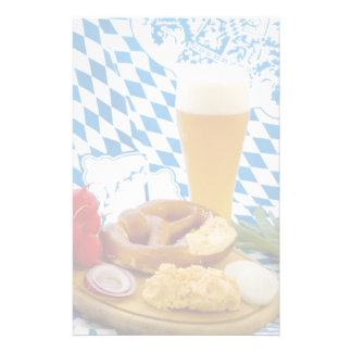 Traditional Bavarian Snack Stationery