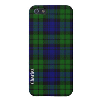 Traditional Black Watch Tartan Plaid iPhone 5 Covers