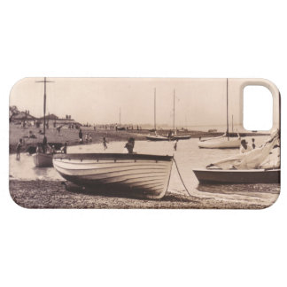 Traditional boats on an Essex beach iPhone 5 Case