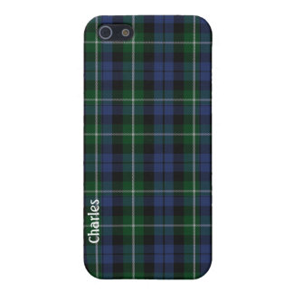 Traditional Campbell Clan Tartan Plaid iPhone 5 Cover