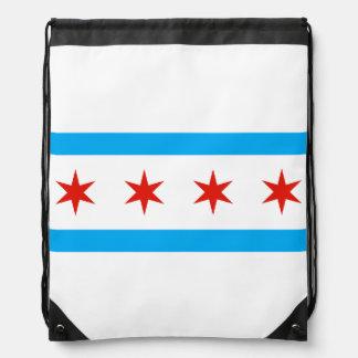 Traditional Chicago flag Rucksacks