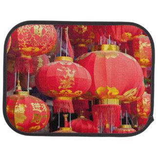 Traditional Chinese lantern hanging Car Mat