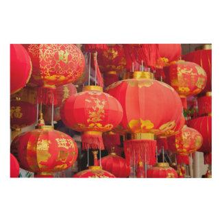 Traditional Chinese lantern hanging Wood Wall Art
