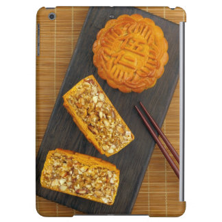 Traditional Chinese mixed nut moon cake