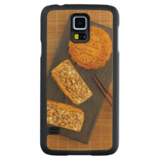 Traditional Chinese mixed nut moon cake Carved Maple Galaxy S5 Case