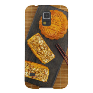 Traditional Chinese mixed nut moon cake Case For Galaxy S5