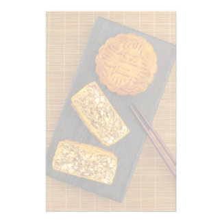 Traditional Chinese mixed nut moon cake Stationery