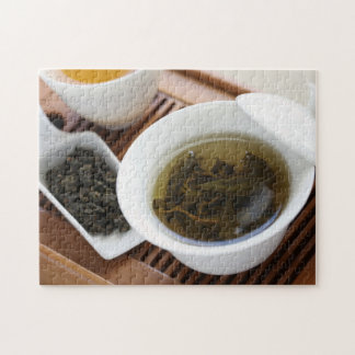 Traditional Chinese tea ceremony: oolong tea Puzzles