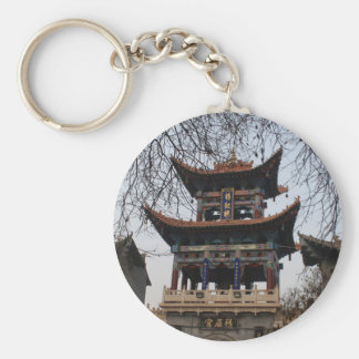 Traditional Chinese Temple Key Chain