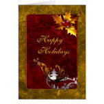 Traditional Christmas Design Greeting Cards