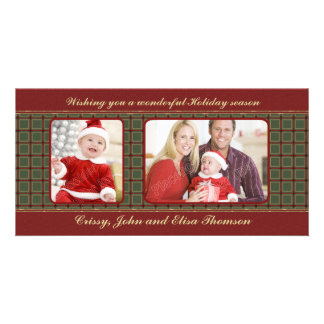 Traditional Christmas Design Photo Cards