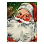 """Traditional Christmas Santa"" Post Cards"
