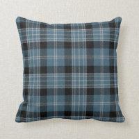 Traditional Clark Tartan Plaid Pillow