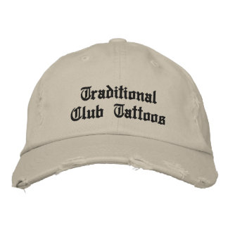 Traditional Club Dad Hat Embroidered Baseball Cap