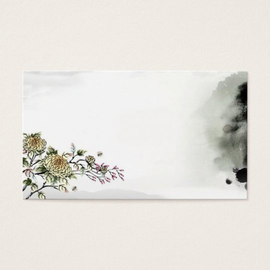traditional cultural chinese style card template