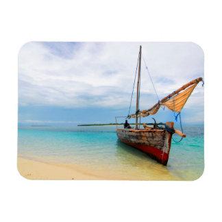 Traditional Dhow, Zanzibar, Tanzania Magnet