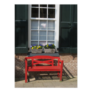 Traditional Dutch House in Holland Photo Poster