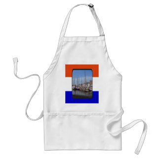 Traditional Dutch sailing vessels Standard Apron