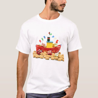 Traditional dutch Santa Claus feast Netherlands T-Shirt