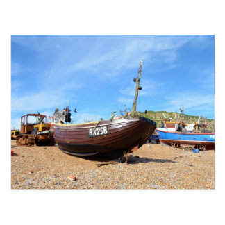 Traditional Fishing Boat Postcard