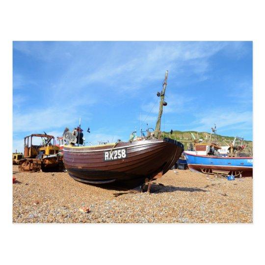 Traditional Fishing Boat Postcard