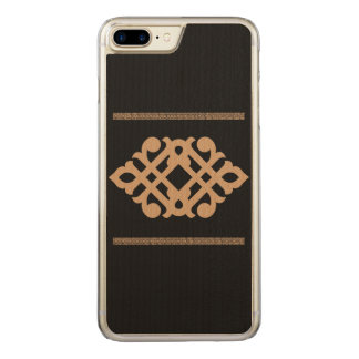 Traditional flower carved iPhone 8 plus/7 plus case