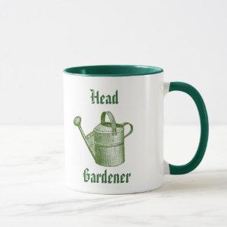 Traditional gardening mug