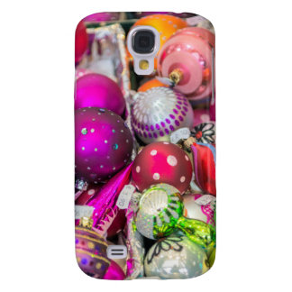 Traditional Glass Ornaments At Christmas Market Galaxy S4 Case