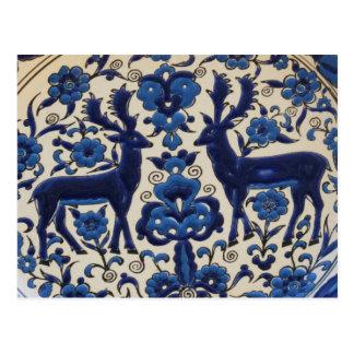 Traditional Greek Ceramic Tiles Postcard