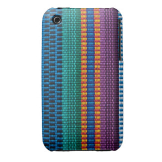 Traditional Guatemala fabric weave iPhone 3 Cases