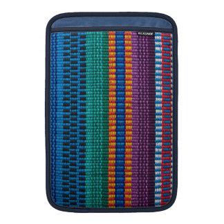 Traditional Guatemala fabric weave MacBook Sleeve