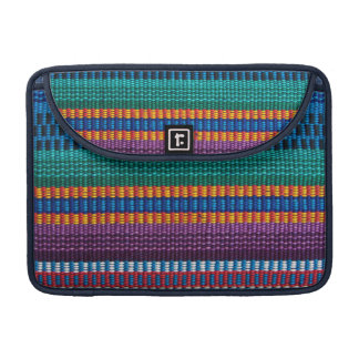 Traditional Guatemala fabric weave Sleeves For MacBooks