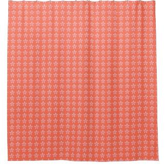 Traditional_Home_Bath-Decor_Summer-Peach_Floral_ Shower Curtain