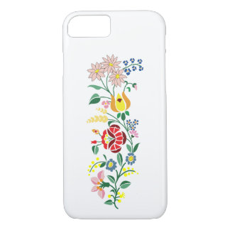 Traditional Hungarian Embroidery iPhone 8/7 Case