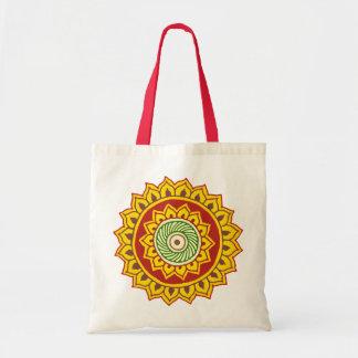 Traditional Indian style Mandana Tote Bag