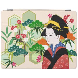 Traditional Japanese Geisha iPad Cover