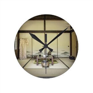 Traditional Japanese Room Wall Clocks