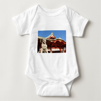 Traditional Japanese temple in Tokyo Baby Bodysuit