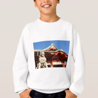 Traditional Japanese temple in Tokyo Sweatshirt