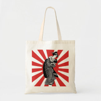 Traditional Japanese ukiyoe woman Tote Bag