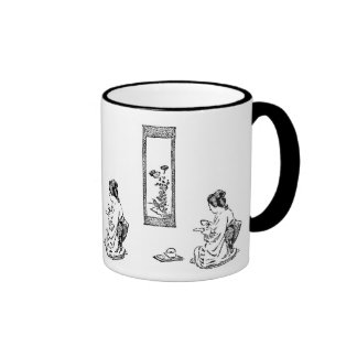 Traditional JapaneseTea Ceremony Ringer Mug