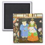 Traditional Korean Wedding: Unique Wedding Gift Fridge Magnet