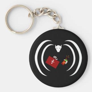 Traditional Logo on Keychain
