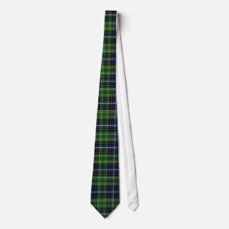 Traditional MacKellar Clan Tartan Plaid Tie
